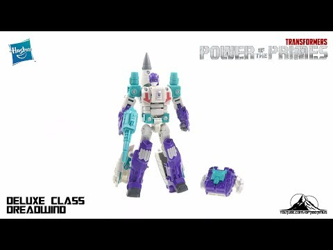 Optibotimus Reviews: Transformers Power of the Prime Deluxe Class DREADWIND
