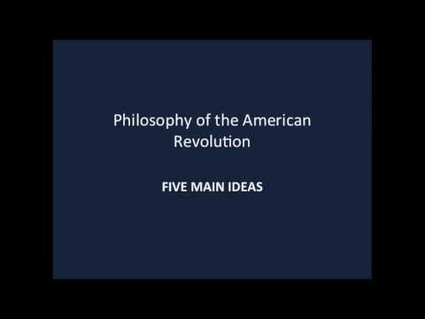 Political Philosophy of the American Revolution