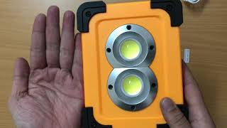 Đèn led xách tay đa năng hiện đại, kiêm sạc dự phòng, có sạc bằng năng lượng mặt trời (DP135)