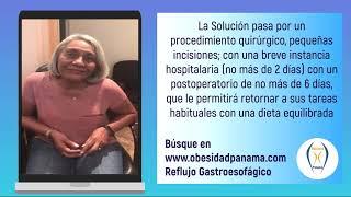 Reflujo Gastroesofágico, paciente que muestra su mejoría