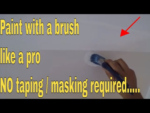 How To Cut In Paint For Walls, Ceilings And Trim - NO Taping Required