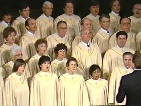 Sanctuary Choir Concert - Lake Avenue Church, Pasadena, CA - March 2, 1986