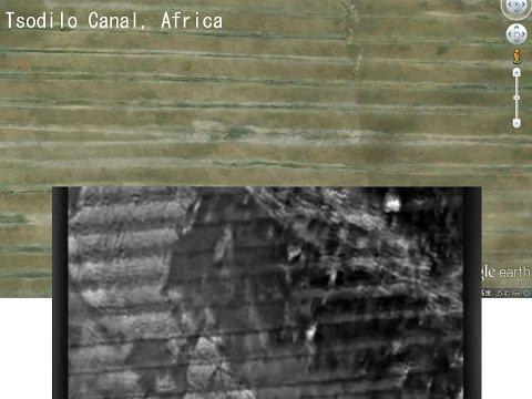 2237(1)The Great Canal on Mars火星の大運河=ツオジロ(アフリカ)の大運河・それは人工的に作られた運河だったbyはやし浩司Hiroshi Hayashi