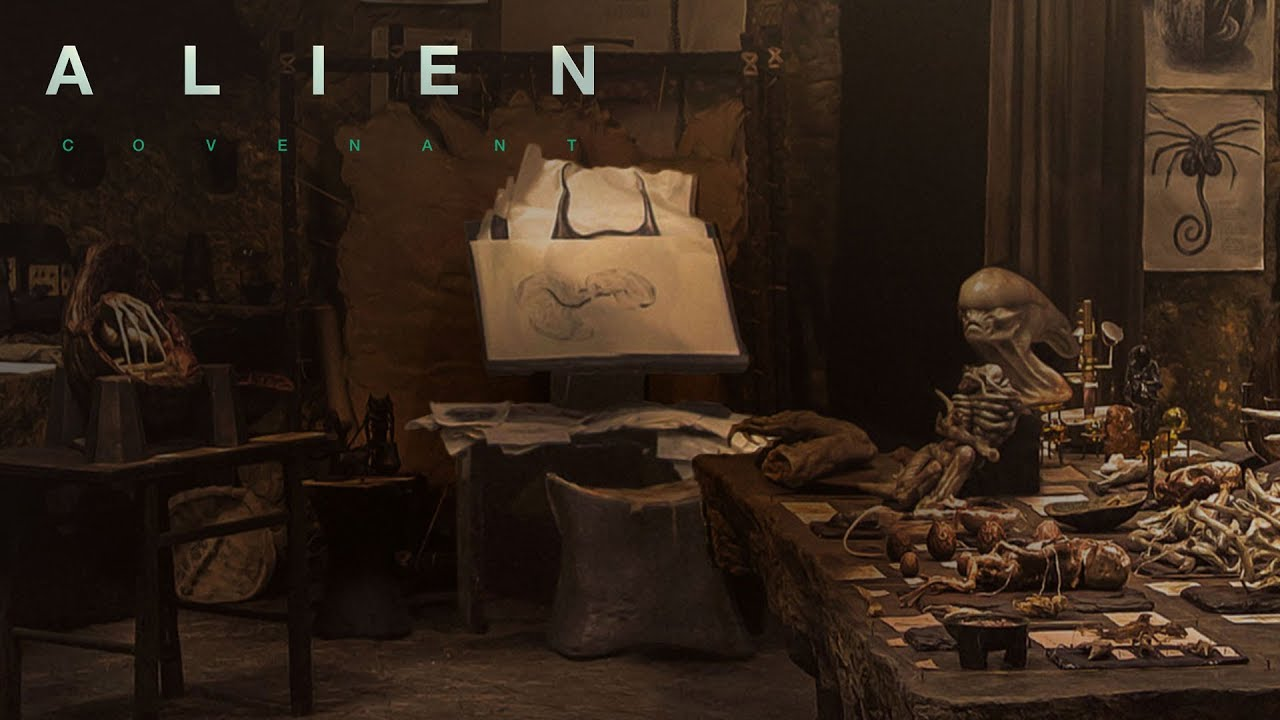 Download Alien: Covenant | The Secrets of David's Lab: My Name Is David | 20th Century FOX