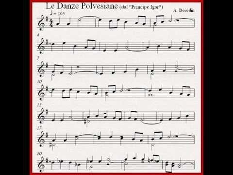 Alexander Borodin ~ Danze Polovesiane