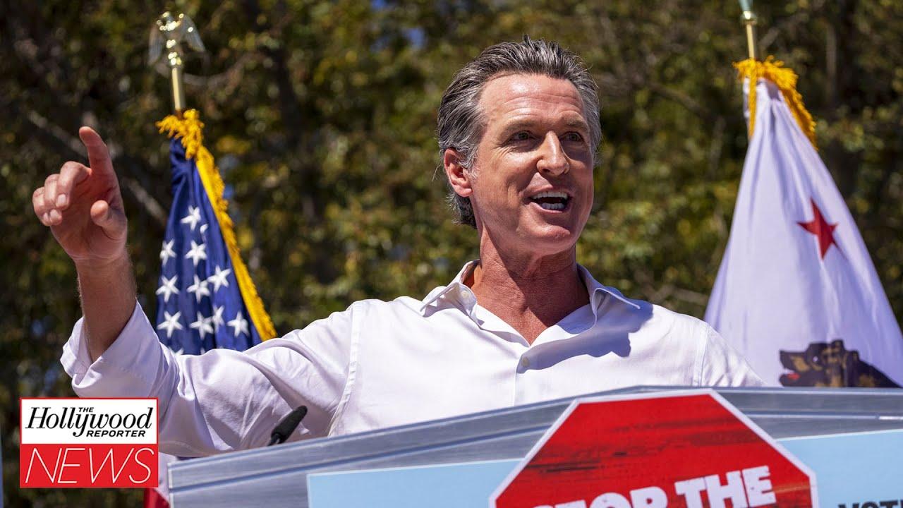 Download Celebrities React to Gavin Newsom Winning the California Gubernatorial Recall Election | THR News