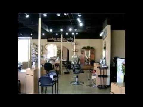 Hair Salon Lighting - YouTube