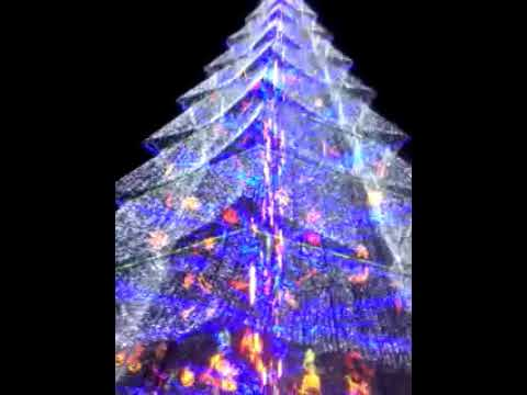 Giant Holiday Tree of Tagum city,Davao del Norte,Philippines