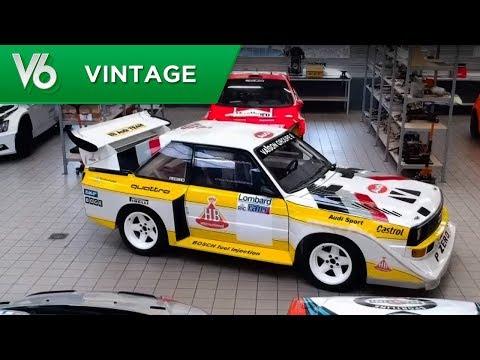 Voiture de légende: Audi Quattro S1 - Les essais vintage de V6