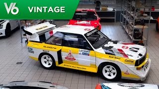 Anthony essaie une voiture de légende : l'Audi Quattro S1 qui coura...