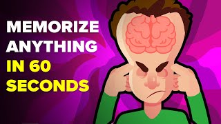 Memorize Anything In 60 Seconds (Quick Tips and Tricks To Remember Things)