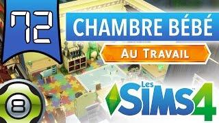 Les Sims 4 FR - Ep 72 - La chambre du bébé extraterrestre - Au Travail