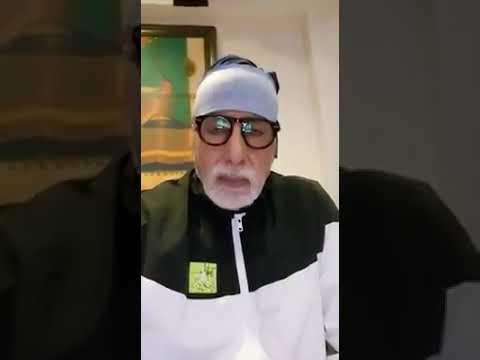 Watch Now: Amitabh Bachchan's video of wishing Nanavati hospital goes viral