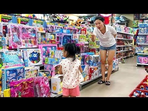Rice Shopping at the Supermarket and Play Area Indoor Playground for children