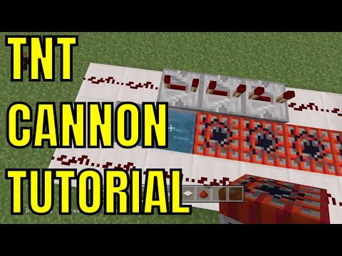 How To Make A TNT Cannon In Minecraft - PS4