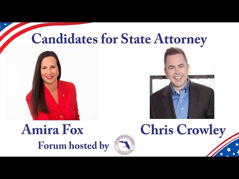 state attorney forum 04 09 2018 at Lee Republican Women Federated