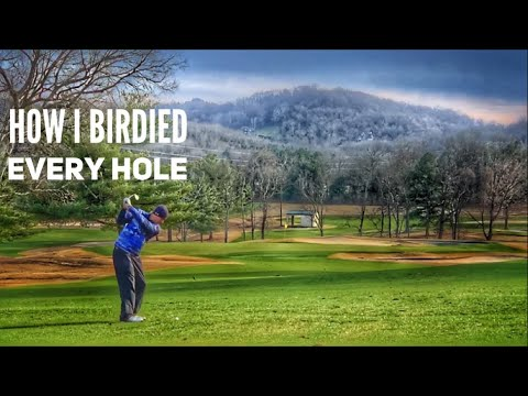 I Made Birdie On Every Hole! | Fun Way To Practice Your ...