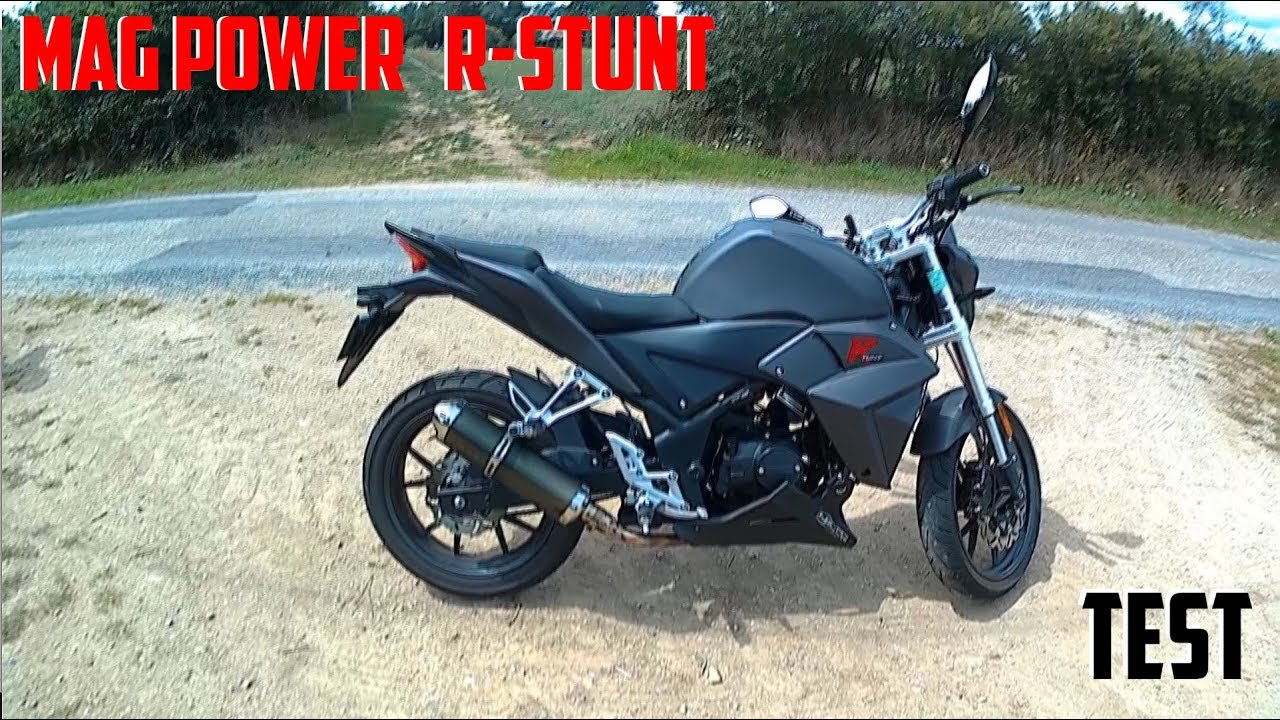 test 1 mag power r stunt 50 cm3 une 50 cc comme les grandes youtube. Black Bedroom Furniture Sets. Home Design Ideas