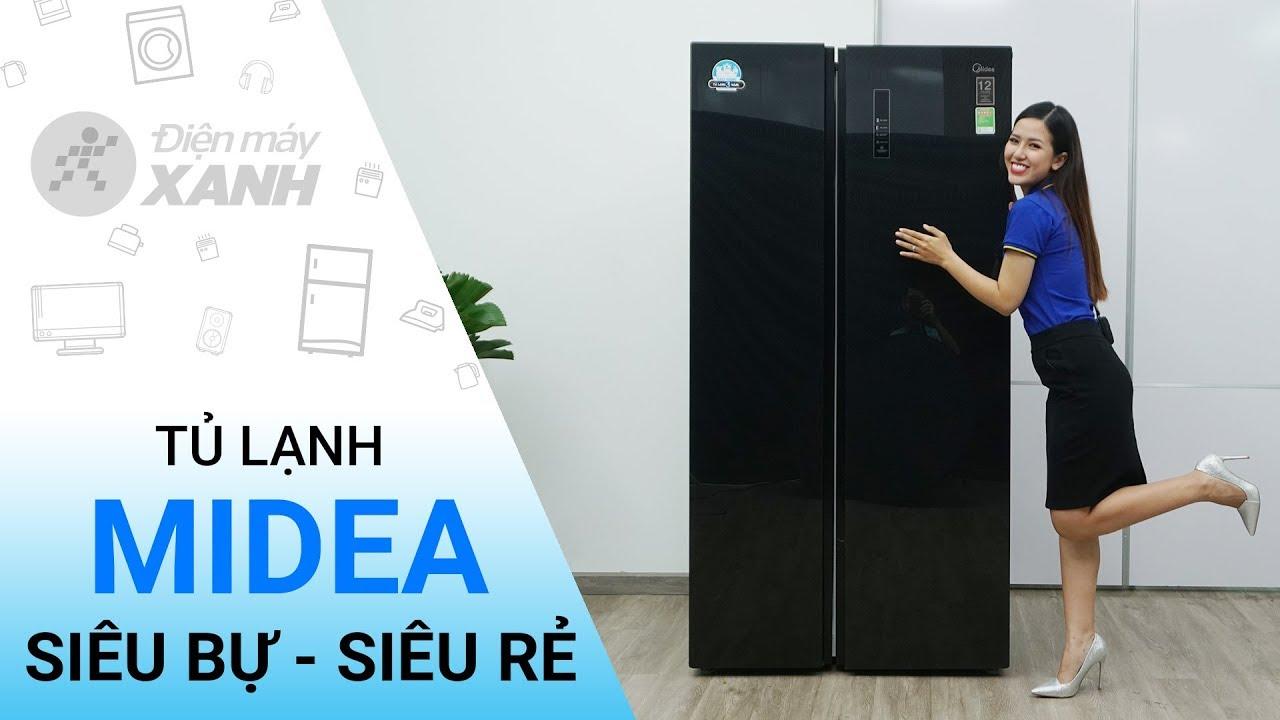 Tủ lạnh Midea 584 lít MRC 690SS – Giá cực rẻ đến từ Midea | Điện máy XANH