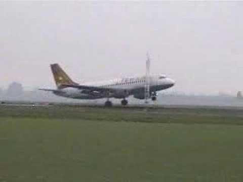 Chinese Airline Bad Landing!