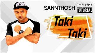 Download Video TAKI TAKI - DJ Snake, Cardi B & Selena Gomez Dance   Step by Step Tutorial By SK Choreography MP3 3GP MP4