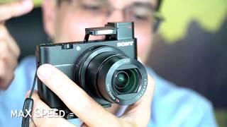 RX100V Melhor Câmera Compacta do Mundo?