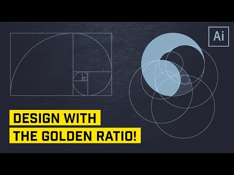 The Golden Ratio for Logo or Icon Design in Illustrator