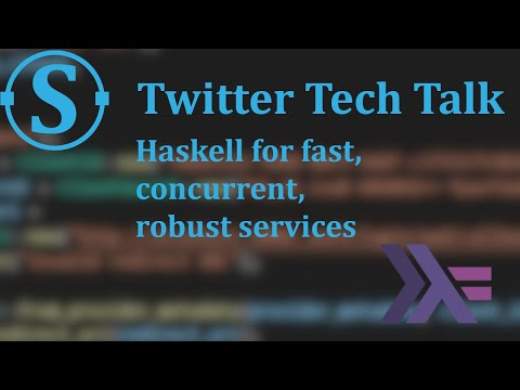 Haskell for fast, concurrent, robust services