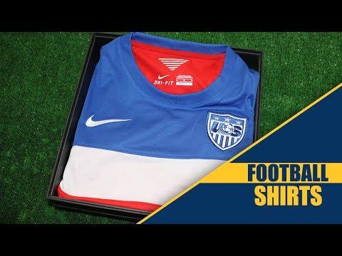 USA Nike Away Kit Unboxing  www.footballshirts.co.uk