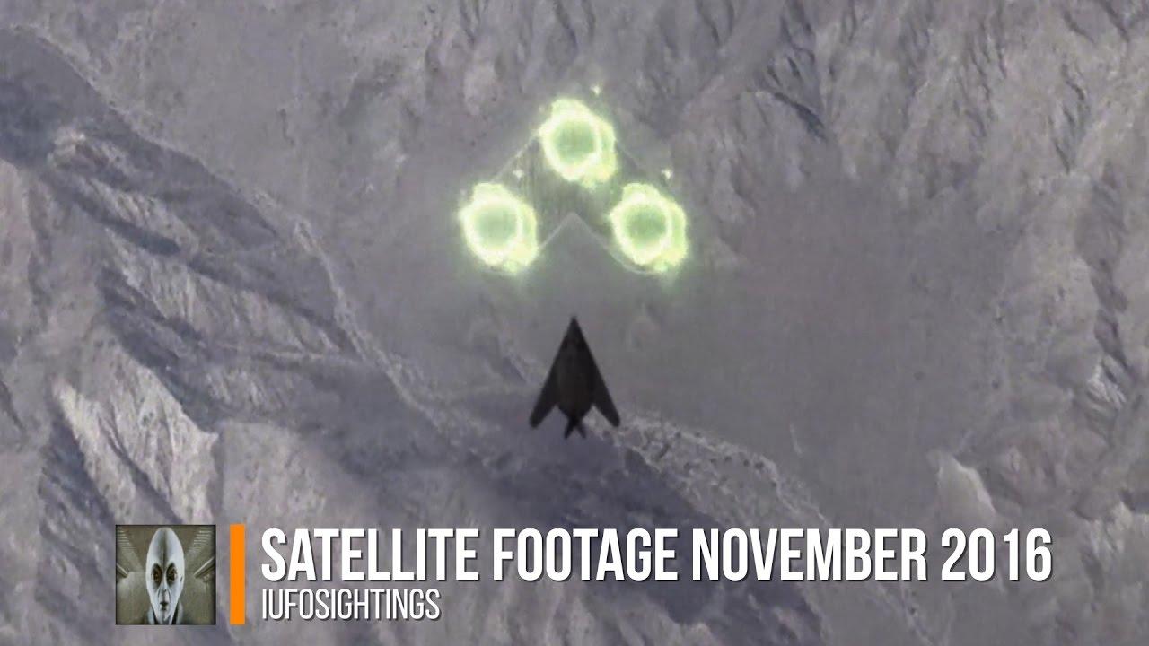 UFO Sightings Satellite Footage November YouTube - Satellite footage