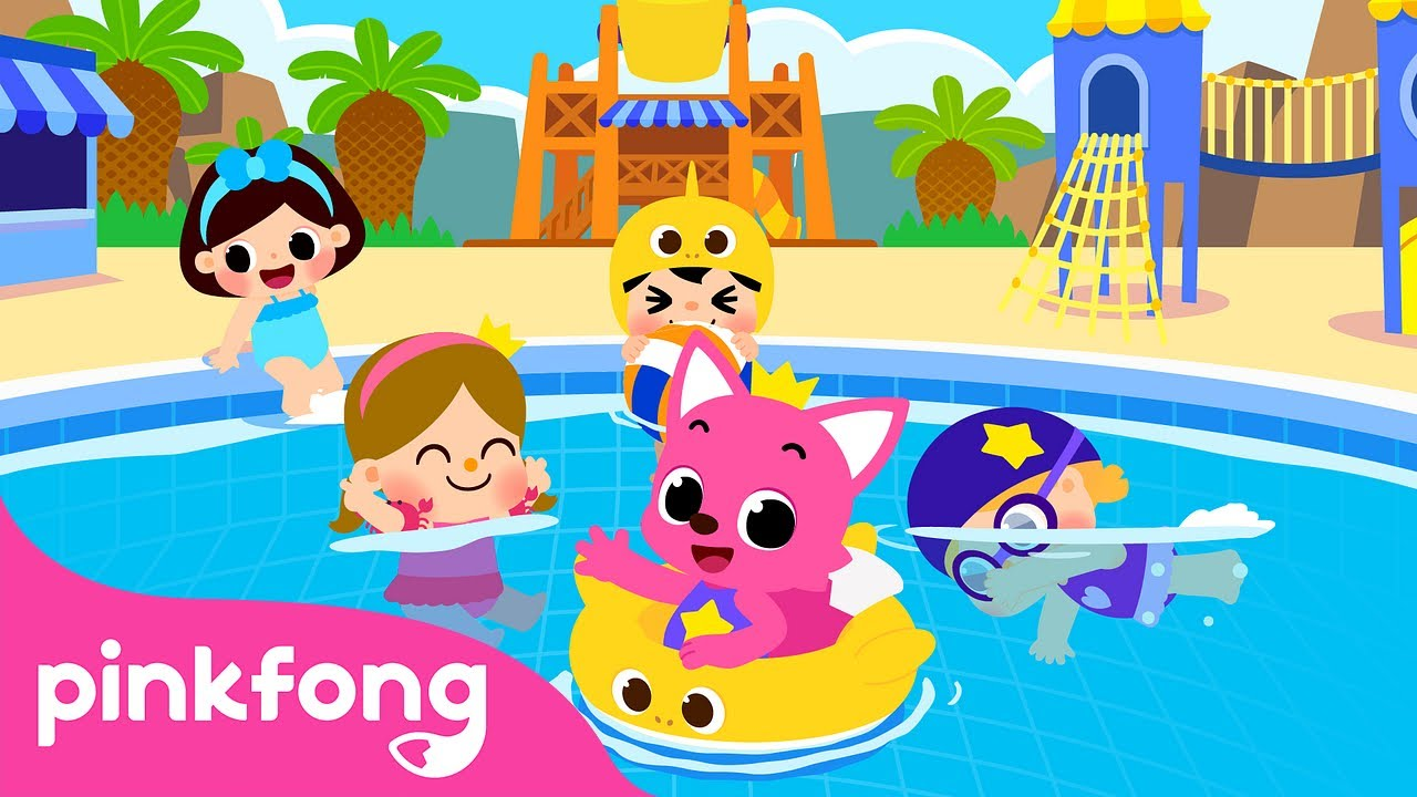 Let's Go Swimming | Learning How to Swim | Sports Songs | Pinkfong Songs for Children