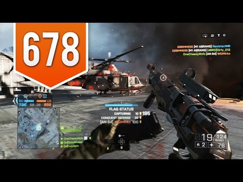BATTLEFIELD 4 (PS4) - Road to Max Rank - Live Multiplayer Gameplay #678 - AN-94 BURST FIRE!
