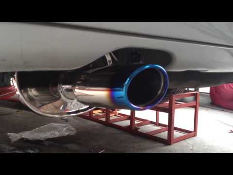 Mercedes-Benz C180_Full Set Muffler & Exhaust System By YS