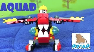 Лего Миксели Мультик! Lego Mixels Series 8 Aquad Пожаринк Аквад! Лего Мультики Видео для Детей