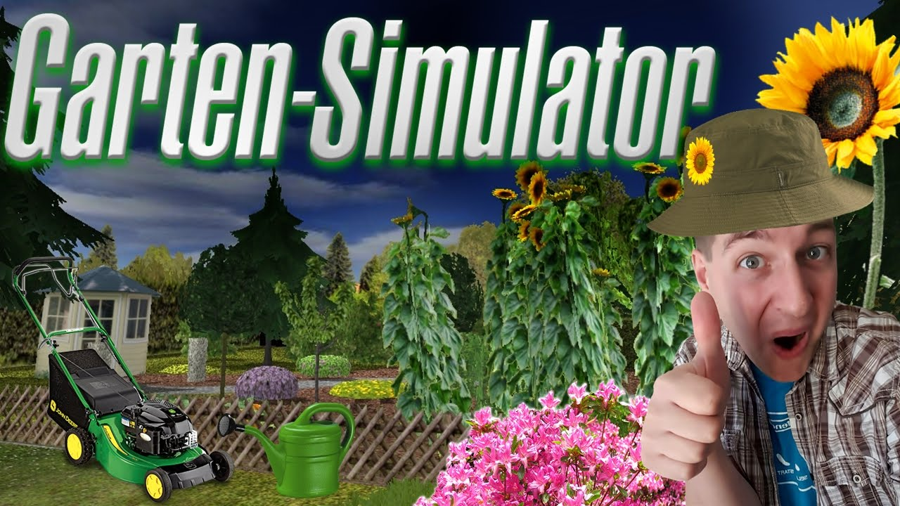 Garten Simulator Deutschgerman Youtube