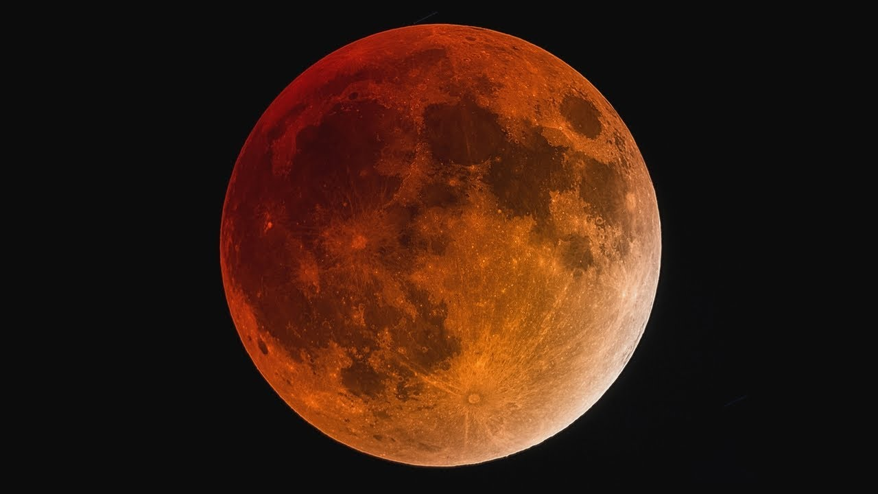 Blood Moon Eclipse 2018 Youtube