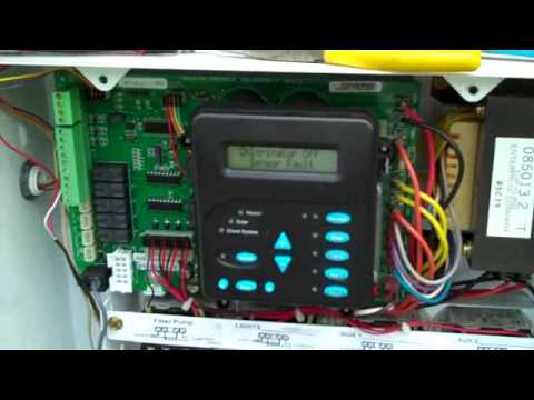 water pump control box wiring diagram vy thermo fan aqualogic salt chlorine converter - no cell power fix youtube