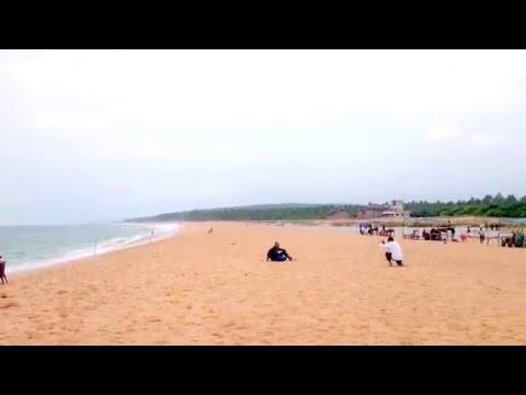 Kerala Tourism - Poovar Islands ( Golden sand beach )