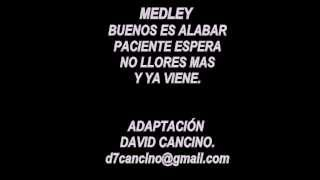 Medley Bueno es alabar  en guitarra (David Cancino)