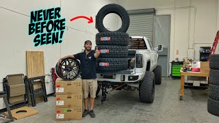 WORLD PREMIERE: WE GOT THE FIRST TIRE/WHEEEL SETUP!