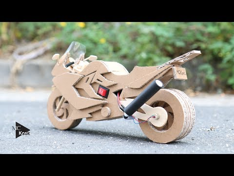 Thumbnail: How to make Toy Motocycle(BMW F800GT) - Amazing Cardboard DIY