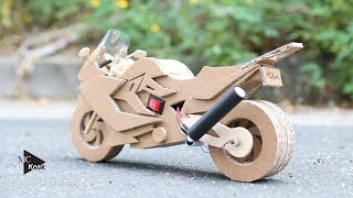 Video How to make Toy Motocycle(BMW F800GT) - Amazing Cardboard DIY download MP3, 3GP, MP4, WEBM, AVI, FLV Agustus 2018