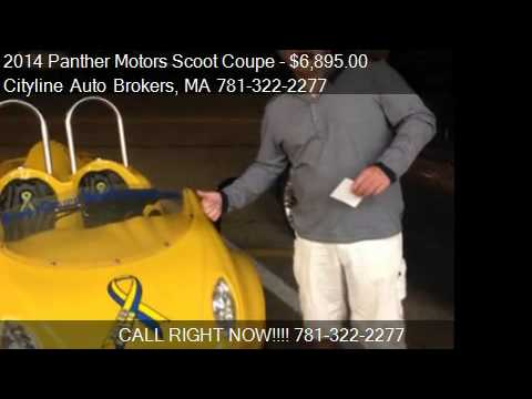 2014 panther motors scoot coupe scoot 50 for sale in malden youtube. Black Bedroom Furniture Sets. Home Design Ideas