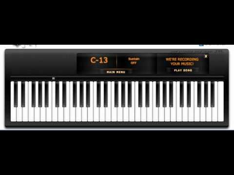 Virtual Piano: My heart will go on (Titanic)