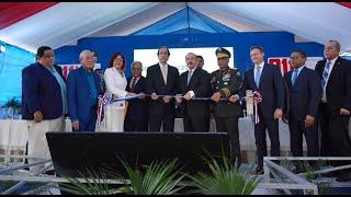 Danilo Medina deja en marcha el Sistema 911 en Azua con 660 nuevos colaboradores y 123 vehculos
