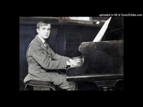 George Antheil - The Golden Bird (1921) - Gottlieb Wallisch, piano