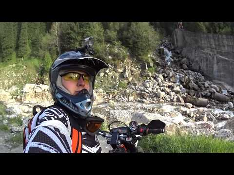 KTM 690 Enduro R Public road and Off-Road on 3335 meters above sea level
