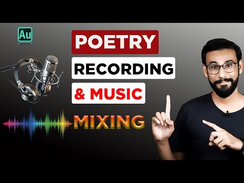 How to Record Poetry with music | Record Shayri with background music and echo effect | Bol Chaal