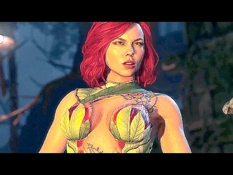 INJUSTICE 2 - NEW Gameplay Poison Ivy, Catwoman & Cheetah Trailer 2017