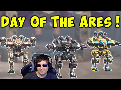 The Day Of The ARES - Mk2 Fun War Robots LIVE Stream Gameplay WR